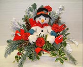 Snowman Arrangement (local delivery only)