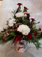 snowman arrangement