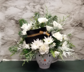 Snowman arrangement Arrangement