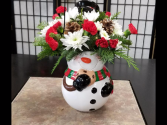 Snowman Cookie Jar *Very Limited Stock call for ordering*