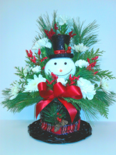 Snowman Hat and ornament  Christmas