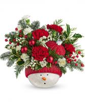 Snowman Ornament Bokay