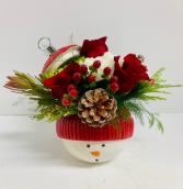 Snowman Ornament Bouquet