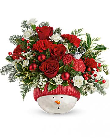 Snowman Ornament  centerpiece collectable