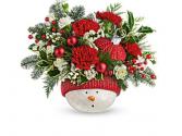 Snowman Ornament Ceramic ornament