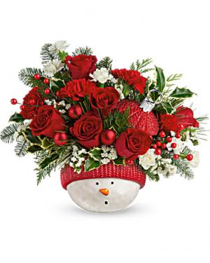 Snowman Ornament Christmas in Las Vegas, NV | Blooming Memory