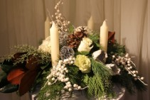 SNOWY Table Centrepiece