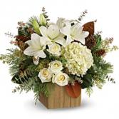 Snowy Woods Bouquet Arrangement