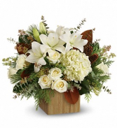 Snowy Woods Bouquet floral arrangement