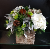Snowy Woods Christmas Arrangement
