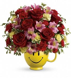 So Happy You're Mine fresh keepsake arrangement