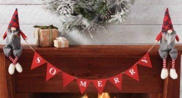 """""""So Merry"""" Gnome Banner"""