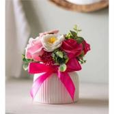 Soap Flower in Decor Vase Giftware
