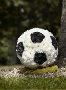 Soccer Ball  personalized flowers