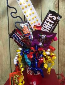Soda Pop Chocolate Candy Bouquet Gift