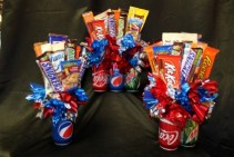 SODALICIOUS Soda & Junk Food Bouquet