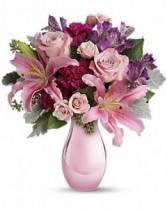 Soft and Beautiful fresh arrangement