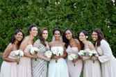 Soft and Easy  Wedding Party Flowers