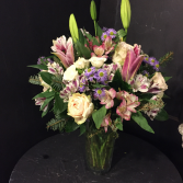 Soft and Elegant large vase arrangement