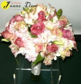 Wedding-Soft and Pretty Bouquet Custom Design. Please call for appointment
