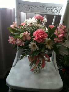 Soft and Pretty Pastel Vase Arrangement
