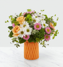Soft and Pretty Vase Arrangement
