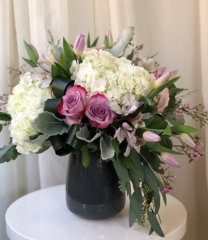 Soft and Sweet  Vase Arrangement  in Woodbridge, ON | PRIMAVERA FLOWERS & MORE