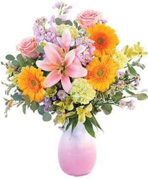 Soft & Bashful Bouquet in Mobile, AL | ZIMLICH THE FLORIST