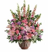 Soft Blush Bouquet floral arrangement