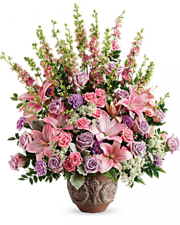 Soft Blush Bouquet one sided