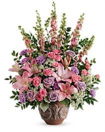Soft Blush Bouquet Sympathy Arrangement