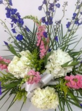 Soft Colors Funeral Arrangement