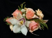 Soft Coral Corsage Corsage