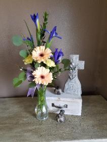 Soft elegance Vase arrangement