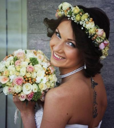 Soft Hue Bridal Bouquet