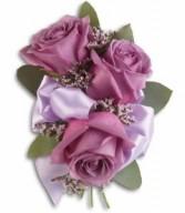 Soft Lavender Corsage H2018A