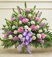 Soft Lavender Sympathy Basket