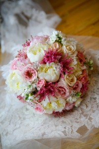 Soft Pastel Elegance Bridal Bouquet