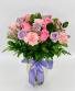 Soft Pink and Lavender Arrangement