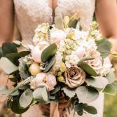 Soft Pink Bridal Bridal Bouquet