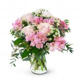 Soft Pink Meadow Arrangement