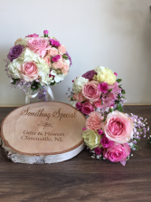 Soft pinks Wedding bouquets