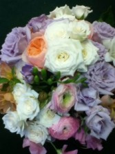 Soft & Prett Says It All wedding bouquet