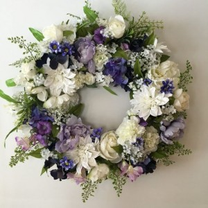 Soft Purple Wreath