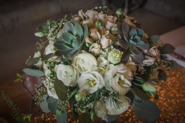 Soft shades of Beauty Wedding Bouquet