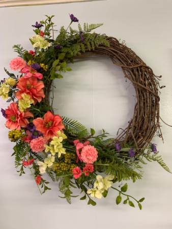 Soft Shades Wreath Silk