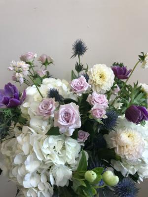 Soft Sorrow Vase Arrangement in Northport, NY   Hengstenberg's Florist