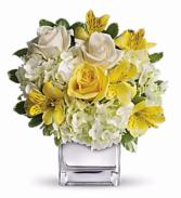 Soft Sunrise Cube Vase