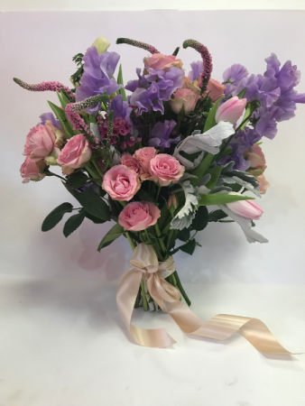 Soft & Sweet Hand tied bouquet