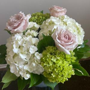 Soft & Thoughtful  Vase Arrangement in Northport, NY   Hengstenberg's Florist